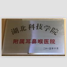 """热烈祝贺我院成为""""湖北科技学院附属耳鼻喉医院"""""""