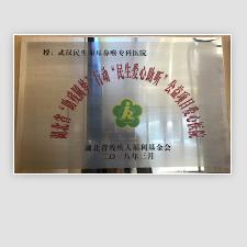 """热烈祝贺我院成为湖北省""""助残圆梦""""行动""""民生爱心助听""""公益项目爱心医院"""