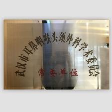 """热烈祝贺我院被武汉市耳鼻喉头颈外科学术委员会评为""""常委单位"""""""